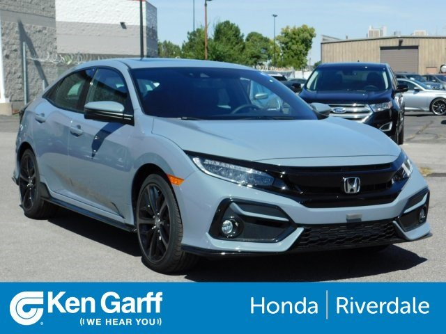 Honda Civic New >> New 2020 Honda Civic Hatchback Sport Touring With Navigation