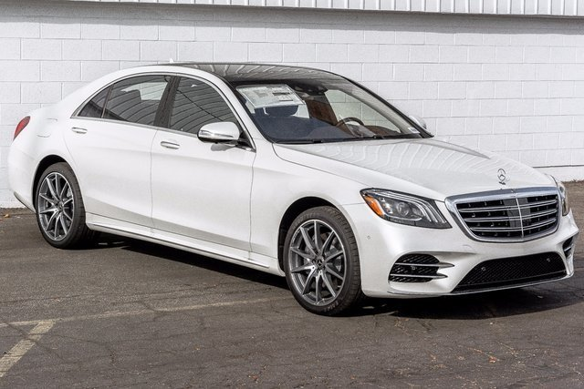 New 2018 Mercedes Benz S Class S 450 4dr Car 1m8196 Ken Garff