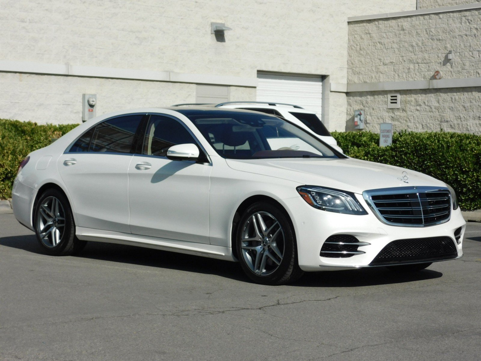Certified Pre Owned 2018 Mercedes Benz S Class S 560 4dr Car
