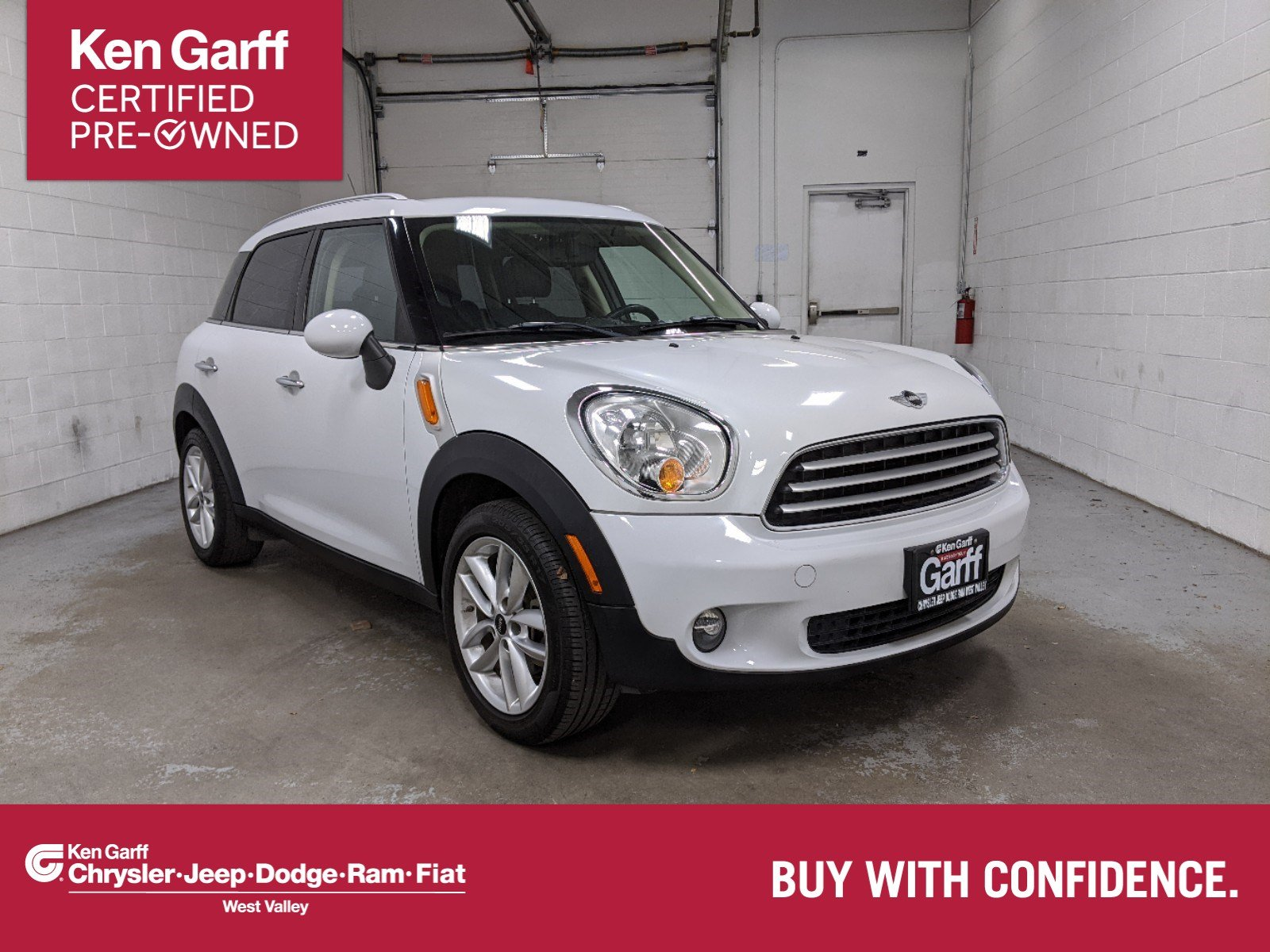 Certified Pre-Owned 2014 MINI Cooper Countryman Base