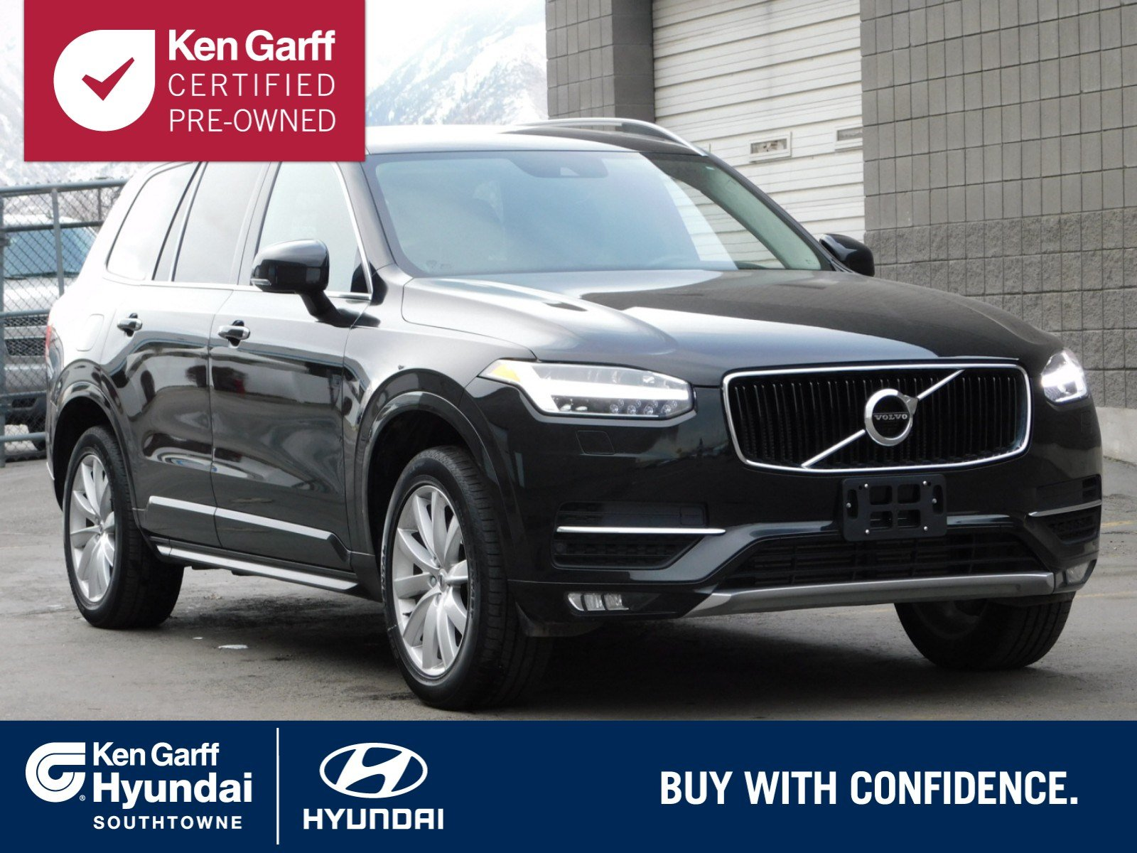 certified pre-owned 2018 volvo xc90 momentum sport utility #3yu1295