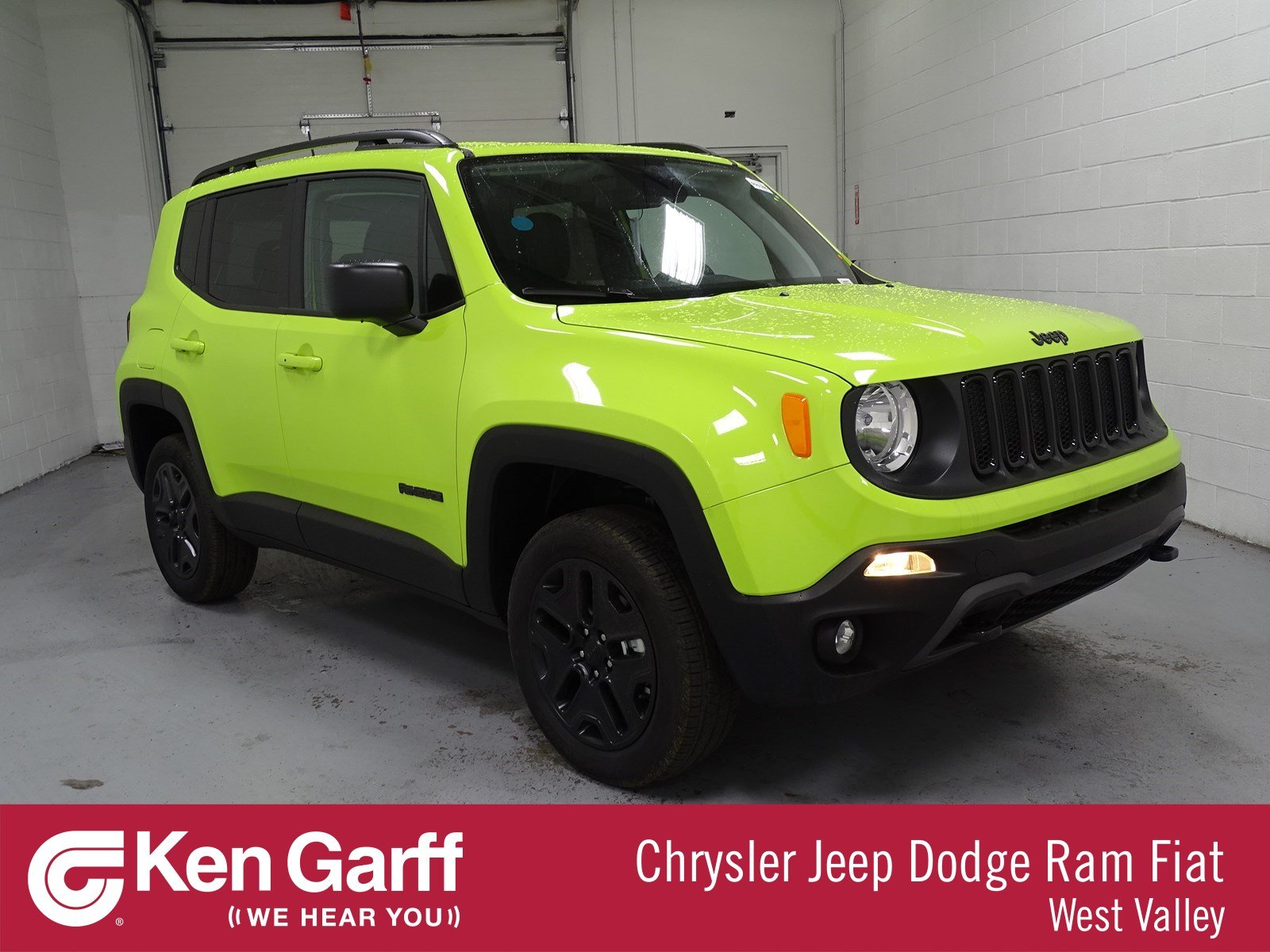 New 2018 Jeep Renegade Upland Edition Sport Utility 1J