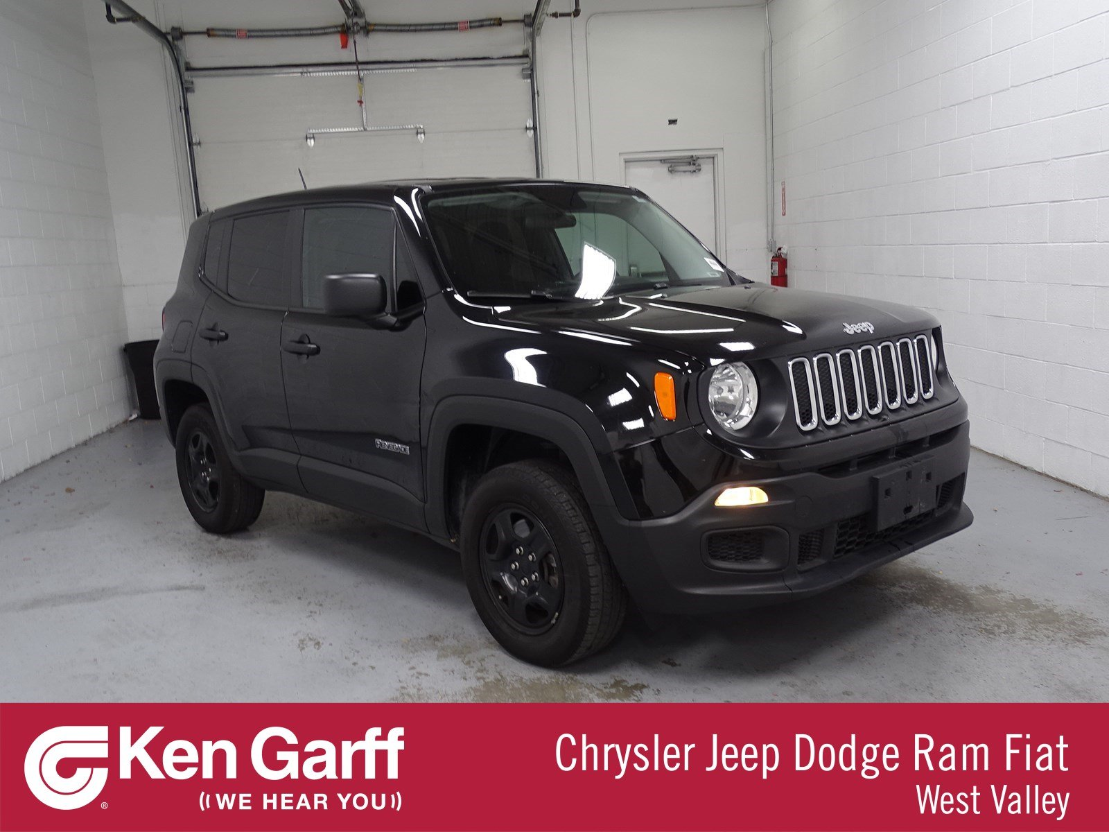 Certified Pre Owned 2017 Jeep Renegade Sport Sport Utility 1J A
