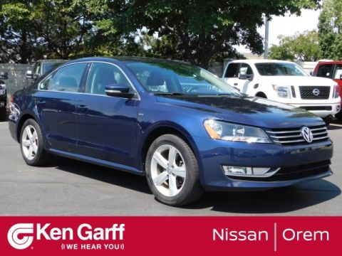Pre-Owned 2015 Volkswagen Passat 4DR SDN 1.8T AUTO LIMITED EDITION