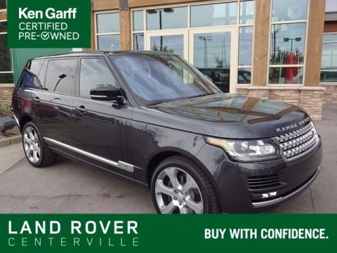 Certified Pre-Owned 2017 Land Rover Range Rover